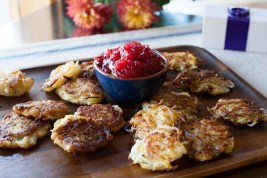 latkes and relish