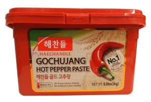 Gochujang container