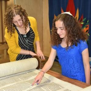 Preparing to become bat mitzvah