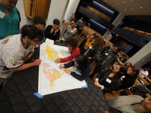 Diaspora mapping at Jews of Color National Convening May 2016