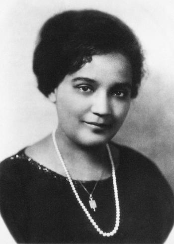 Jessie Fauset novelist who discovered others  African