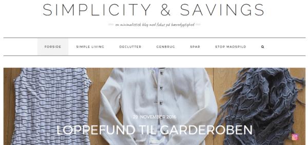 Simplicity & Savings