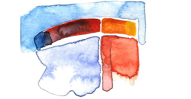 Skriveelevernes farveantologi