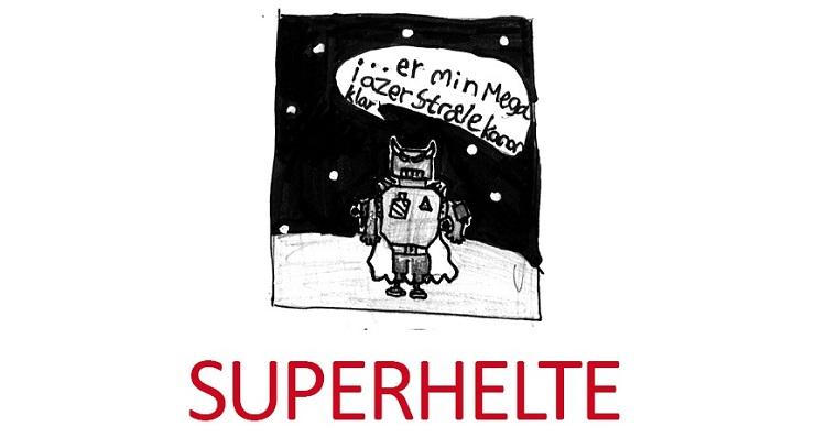 Banegårdsudstilling: SUPERHELTE