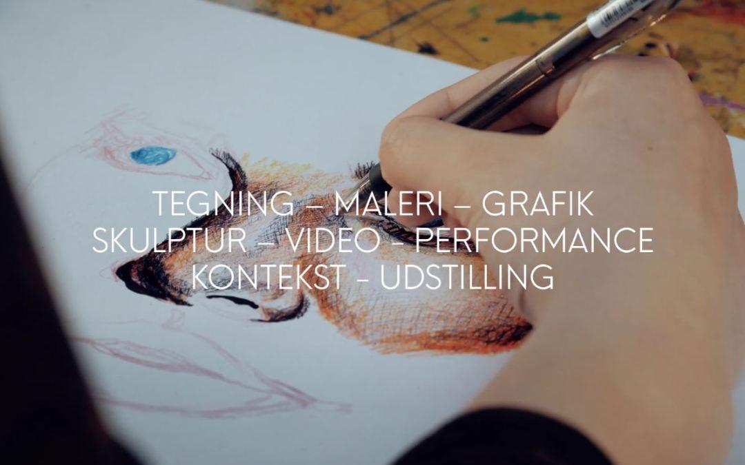 Se vores nye film om Den Billedkunstneriske Talentlinje