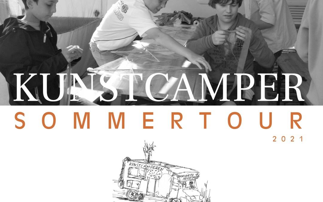 Kunstcamperen på sommertour