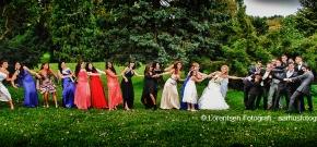 13 brudepiger og 10 brudesvende