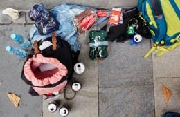 Unge hjemløse