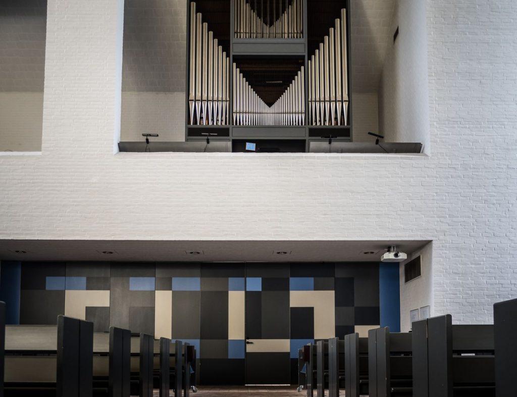 Skjoldhøj kirken Aarhus Panorama