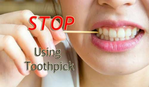 Stop Using Toothpick