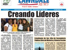"Lawndale News Newspaper, Page 1 story in Spanish on ""The King's Pawn"" published July 19, 2018."