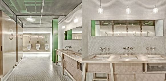 4 stunning restaurant bathroom designs