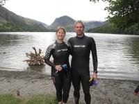 5km swim at Buttermere