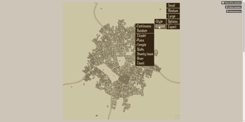 Medieval Fantasy City Generator Cogwheel Gaming