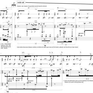 saxophone – Aaron Cassidy