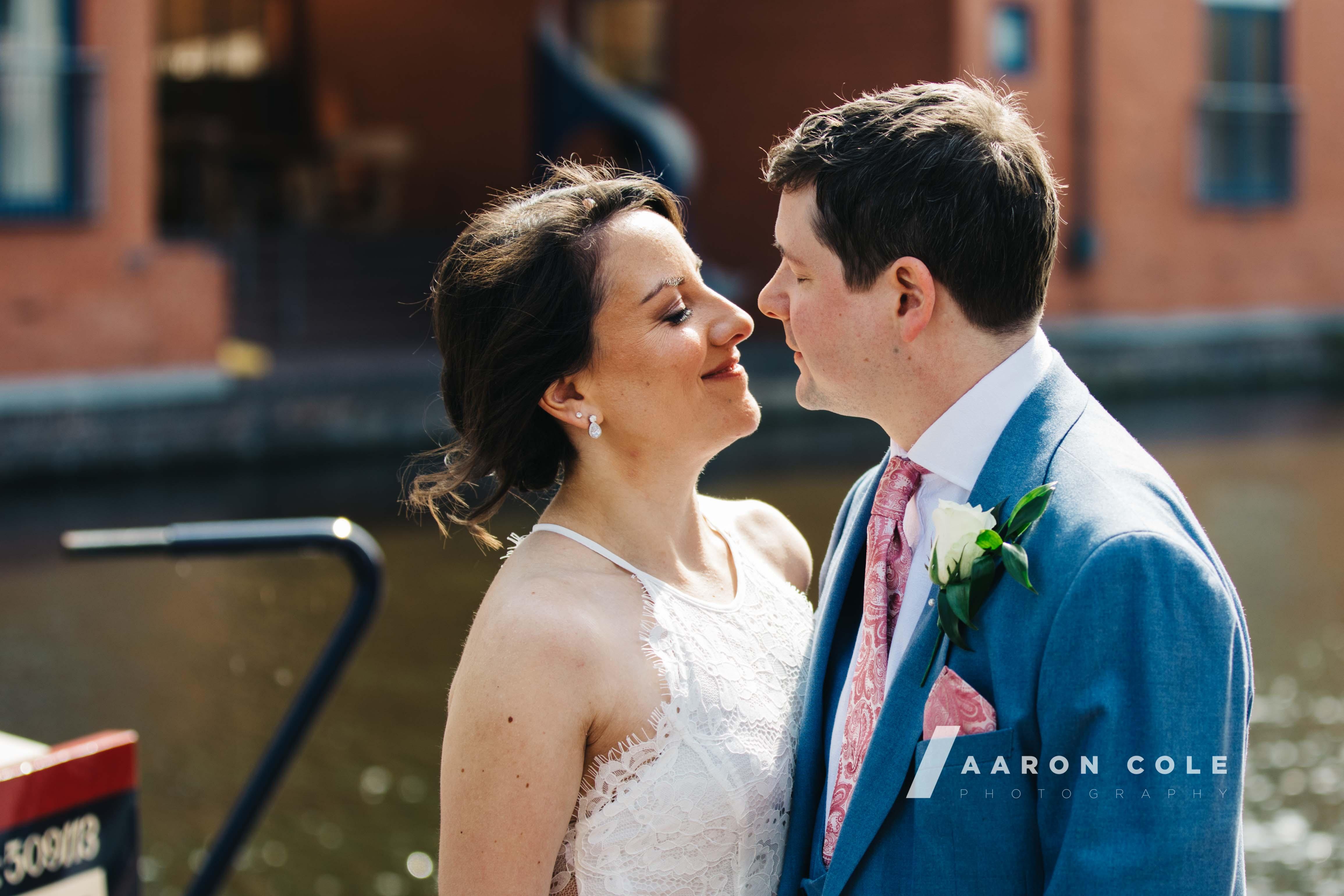 Bride and Groom Close