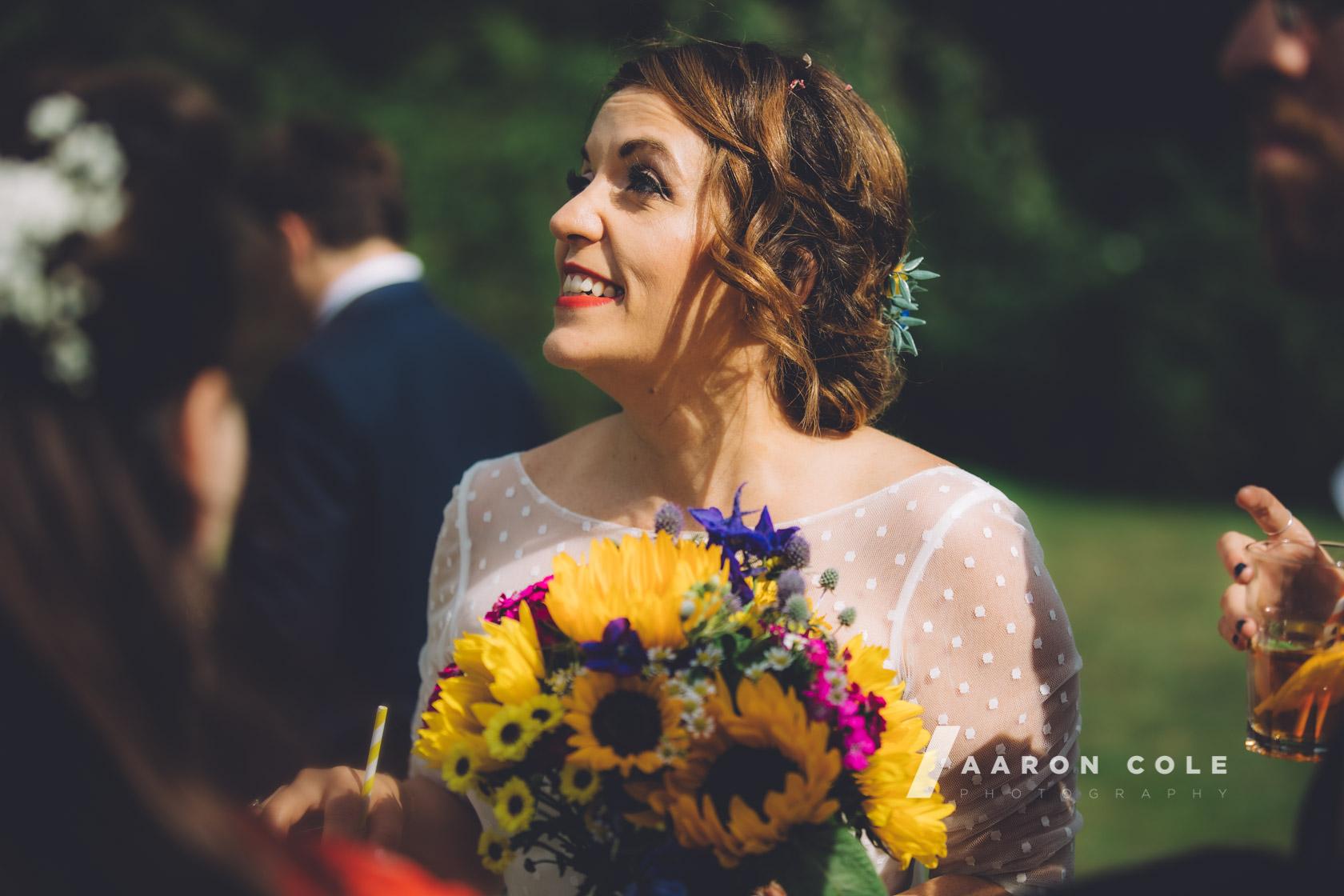 Bride at Letchworth