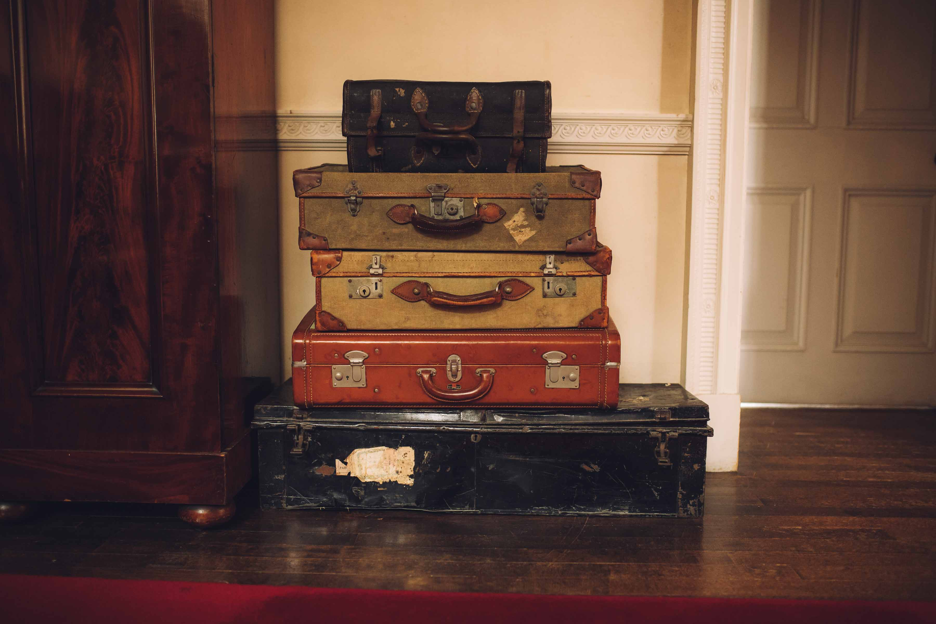 Walcot Hall Suitcases