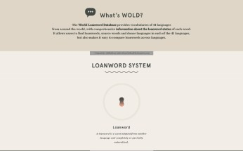 What's Wold? Loanword System