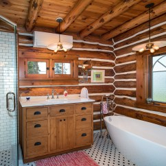 How To Renovate A Kitchen Bright Ceiling Lights For Log Home Builder - Design, Build | Draper Construction