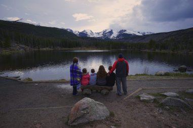 Fuhrmans at Sprague Lake
