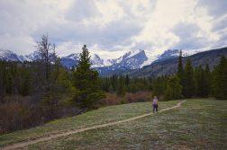 Ella Hiking Near Storm Pass