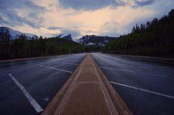 The Empty Parking Lot At Bear Lake Trailhead