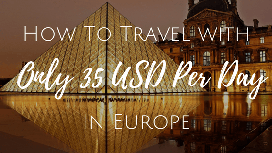 35 usd per day europe, europe travel cost