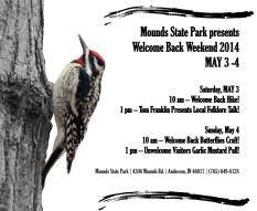 Mounds State Park Woodpecker Flyer