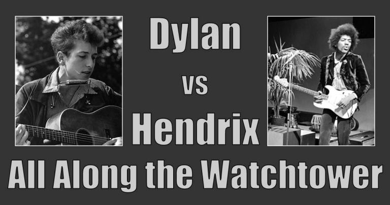 In which I examine Hendrix's second wave cover of All Along the Watchtower.