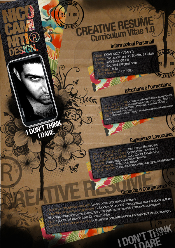 Creative Resume Examples 2012 The Blog For