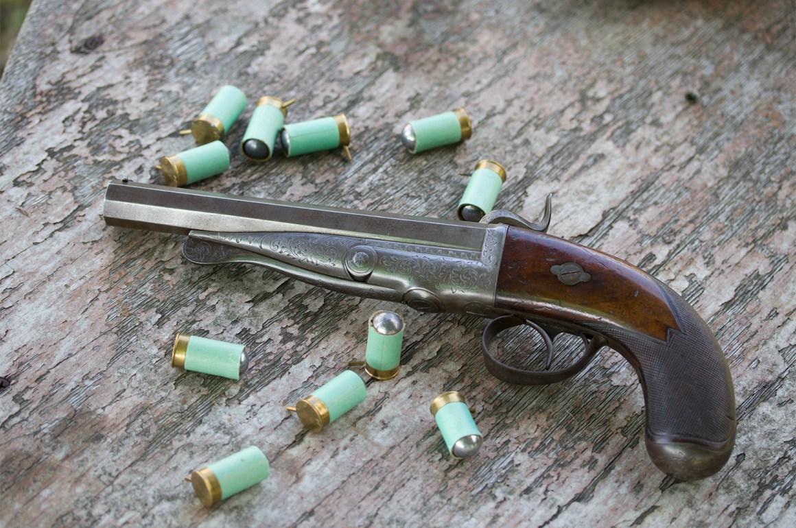 Casimir Lefaucheux Pinfire Pistol