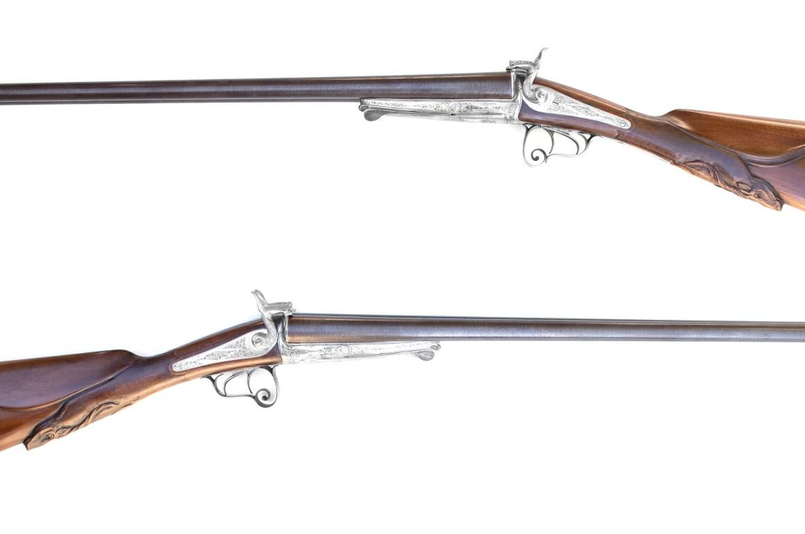 E. Bernard 10g Pinfire Shotgun