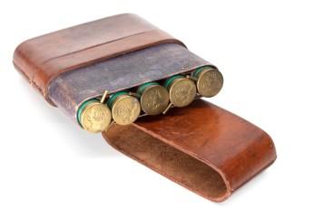 Case for holding Pinfire Shotshells