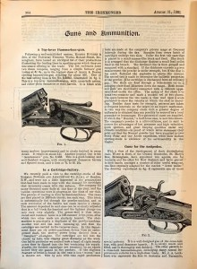Guns and Ammunition article in The Ironmonger