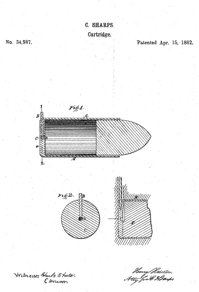 C. Sharps US Patent No. 34,987
