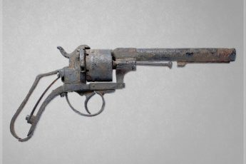 Excavated Pinfire Revolver from the American Civil War