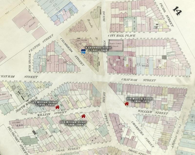 A. G. Genez shops map