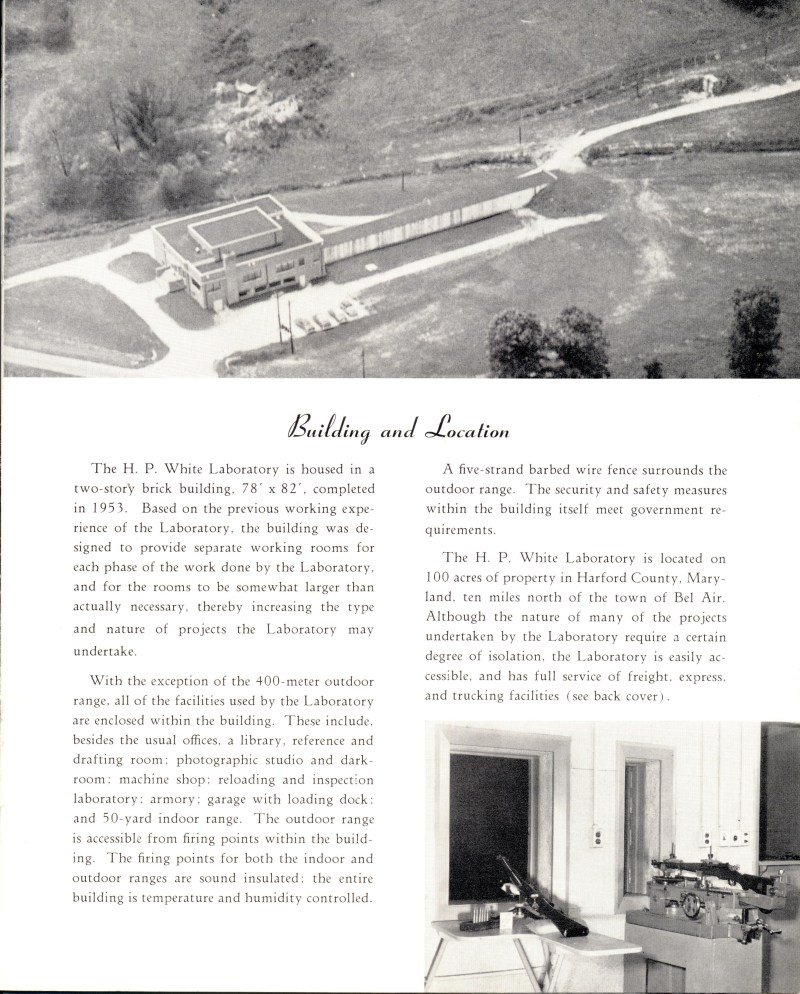 White & Munhall Laboratory Sales Brochure Page 5