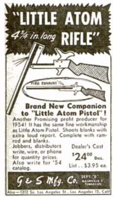 Little Atom Pinfire Rifle