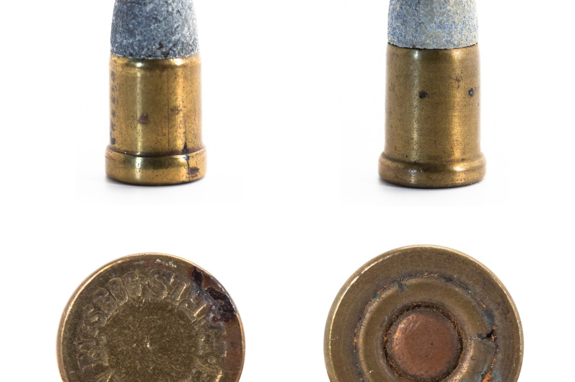 9mm Galand and 9mm Perrin French Thick Rim Cartridges