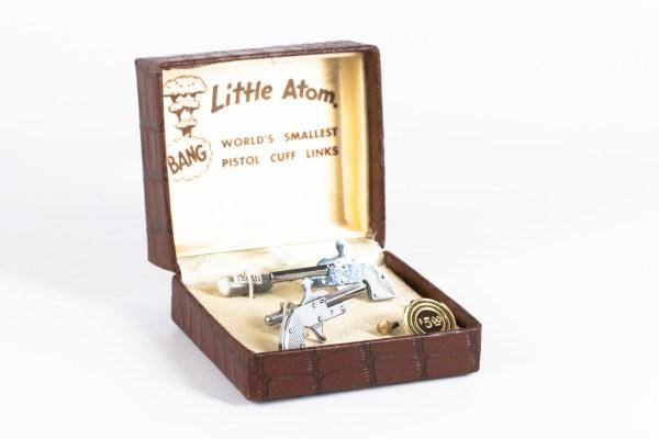 Little Atom 2mm Pinfire Cufflinks