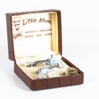 Little Atom 2mm Pinfire Cufflinks