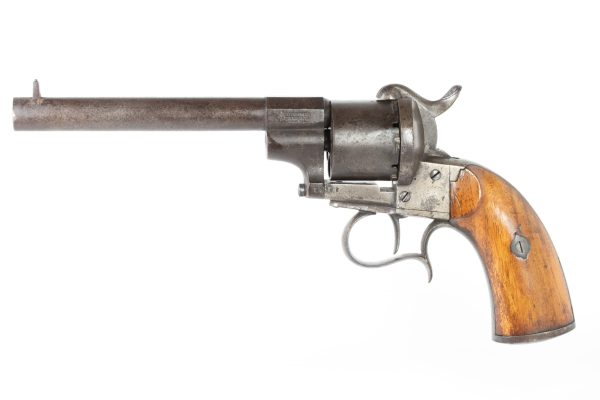 Belgian model 1854 Pinfire Revolver