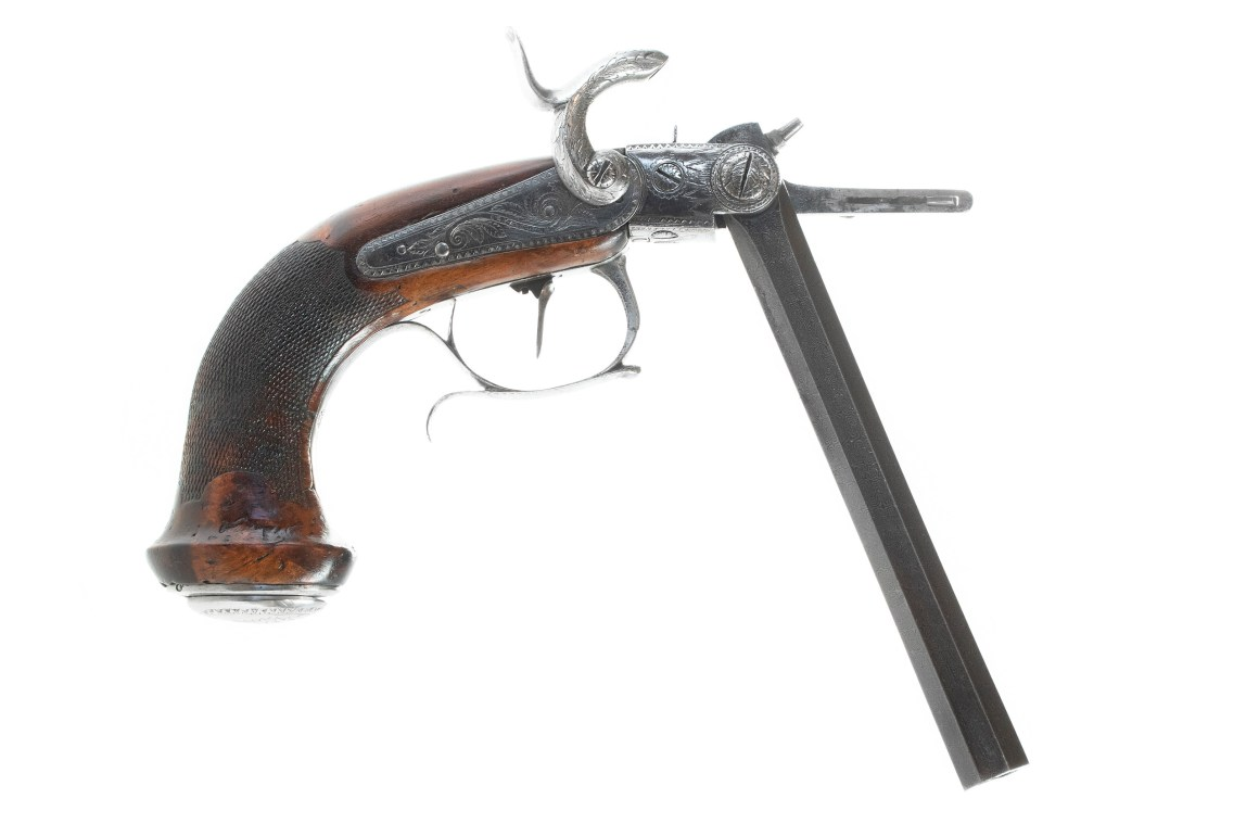 Casimir Lefaucheux's first pistol and the death of Pauly's Cartridge System