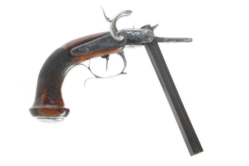 Casimir Lefaucheux Percussion Pistol