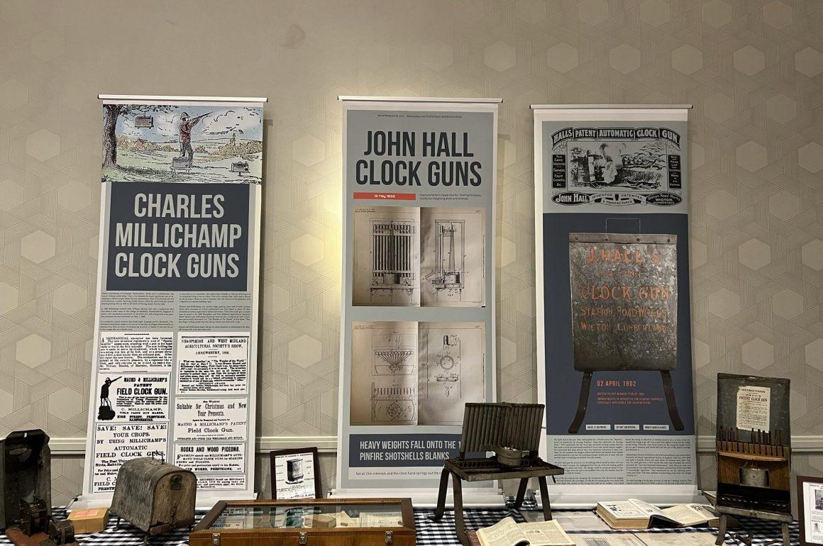 Pinfire Clock Gun Display won 2021 TGCA Award