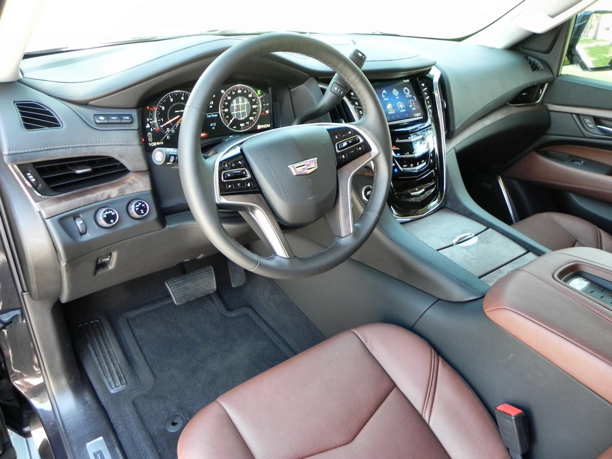 2015 Cadillac Escalade Interior Review