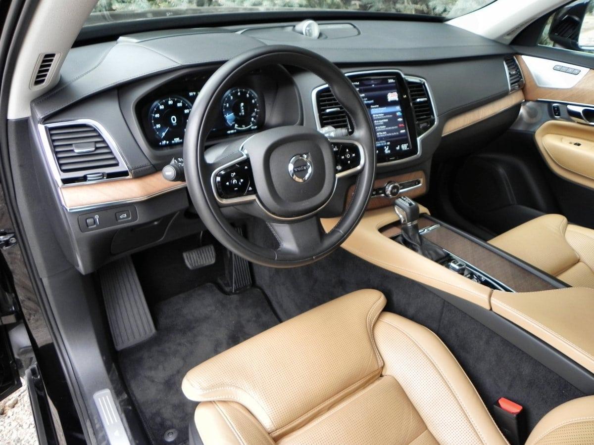 2016 volvo xc90 interior review