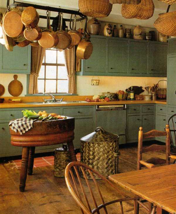 Primitive Rustic Country Kitchens